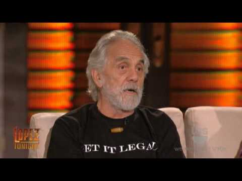 """Lopez Tonight - Cheech and Chong Interview & Sing """" Mexican Americans """" - Part 1 of 2"""