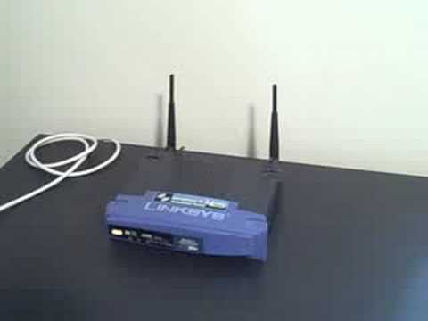 how to install your linksys wireless router youtube