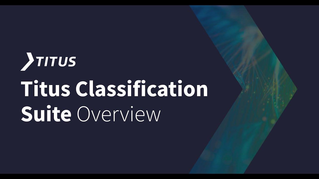 Data Classification | Titus
