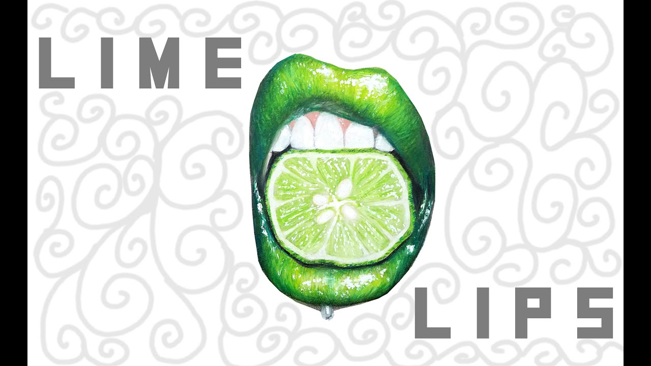 Lime drawing
