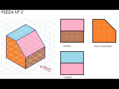 Ejercicio Vistas Dibujo Tecnico E2 Ejercicios De Vistas Basicos