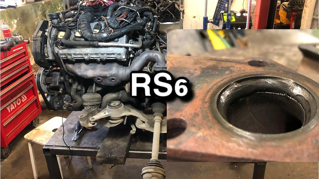 Audi RS6 C5 4.2 V8 Bi-turbo mootor maas VLOG