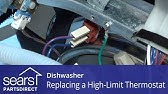 Kenmore Dishwasher High Limit Thermostat #154290204 - YouTube on