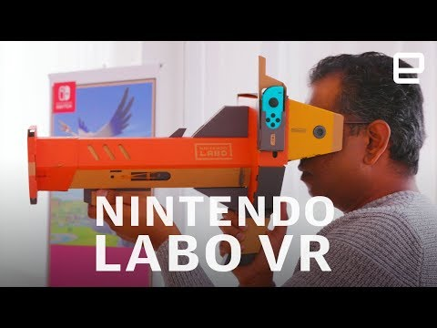 Nintendo Labo VR Kit Hands-On