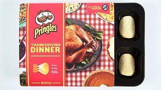 Pringles Creates Entire Thanksgiving Dinner in Potato Chip Form