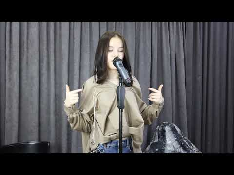 Daneliya Tuleshova - Bellyache / Billie Eilish Cover / Live