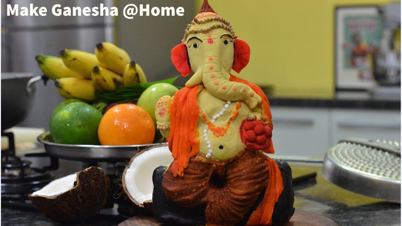 Eco Friendly Ganesha How to Make
