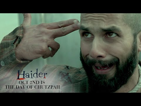 Haider | Oct. 2nd Is The Day of Chutzpah | Shahid Kapoor & Shraddha Kapoor