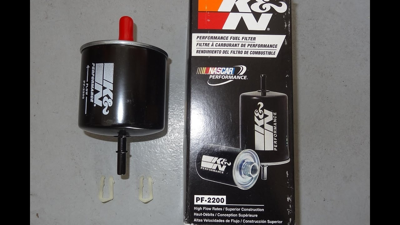 medium resolution of installing a 1979 1997 mustang k n high flow fuel filter on our 1996 gt pn pf 2200