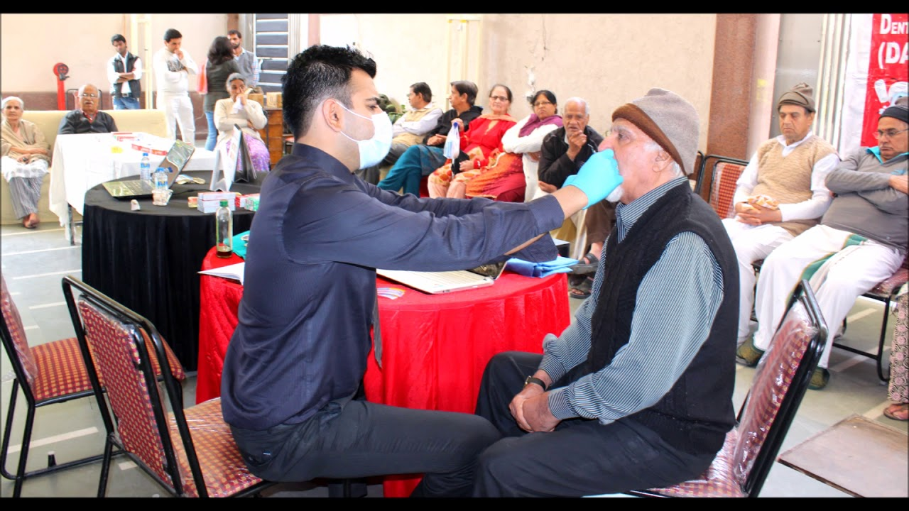 Dental camps at old age home in delhi | INDIAN DENTAL ASSOCIATION | DENTAL  CAMPS IN DELHI | DAYA