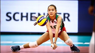 16 Years Old Melanie Parra - Amazing Volleyball Player (HD)