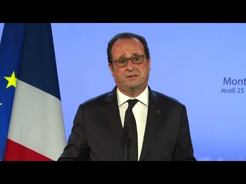 Hollande évoque l'amitié Uruguay/France à Montevideo