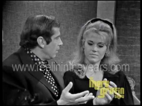 Jane Fonda Roger Vadim Interview Merv Griffin Show