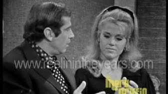 Jane Fonda & Roger Vadim Interview (Merv Griffin Show 1967)