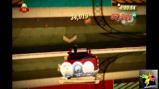 Kinect Joy Ride gameplay!!