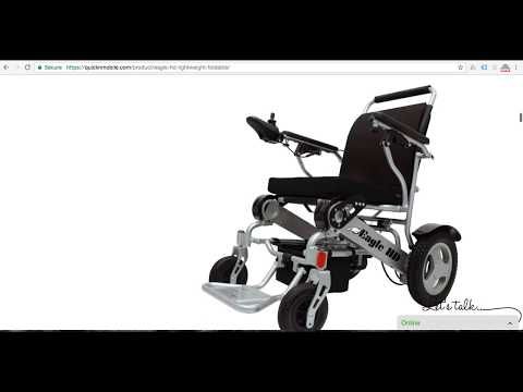 The Eagle Heavy Duty Power Folding Wheelchair Review