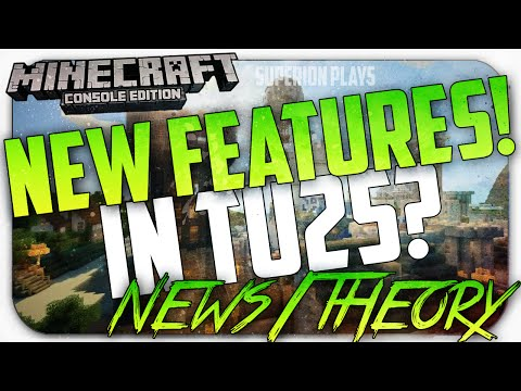 NEW Weapons! Thirst bar + MORE - Minecraft Console: *NEW* Features TU25 Q&A