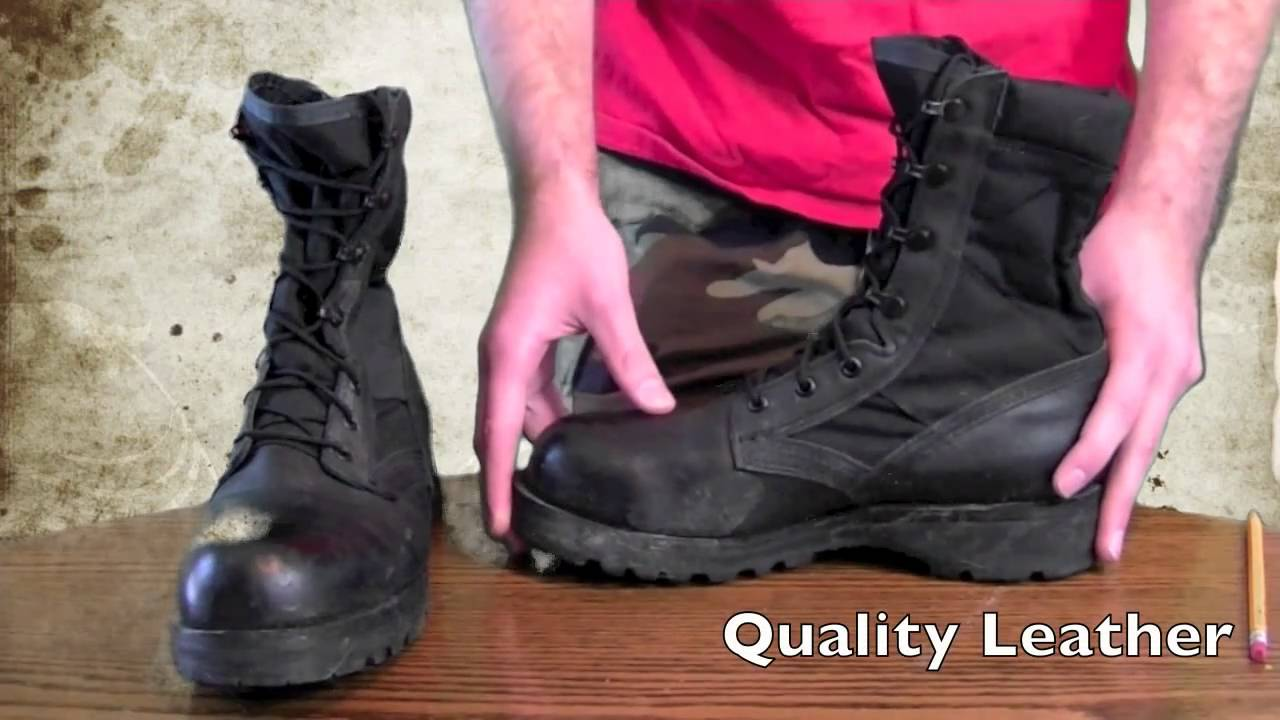 belleville 220 Tropical Steel Toe Boots - YouTube c1181b0f5a3