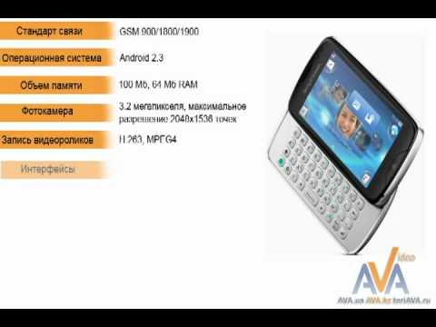 Обзор Sony Ericsson txt pro