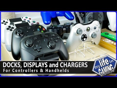 Docks and Displays for Controllers and Handhelds :: Tips & Tweaks - MY LIFE IN GAMING