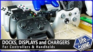 Docks, Displays and Chargers for Controllers and Handhelds / MY LIFE IN GAMING