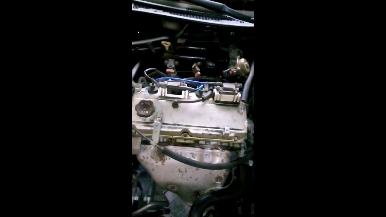 Egr Solenoid Eclipse Gs V24 Replace Youtube Wiring Diagram For 2003 Mitsubishi