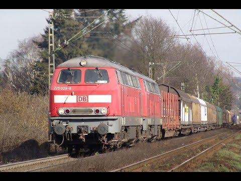 302 2 - REOS - The Montzen line, Freight through Aachen, to the Belgium border