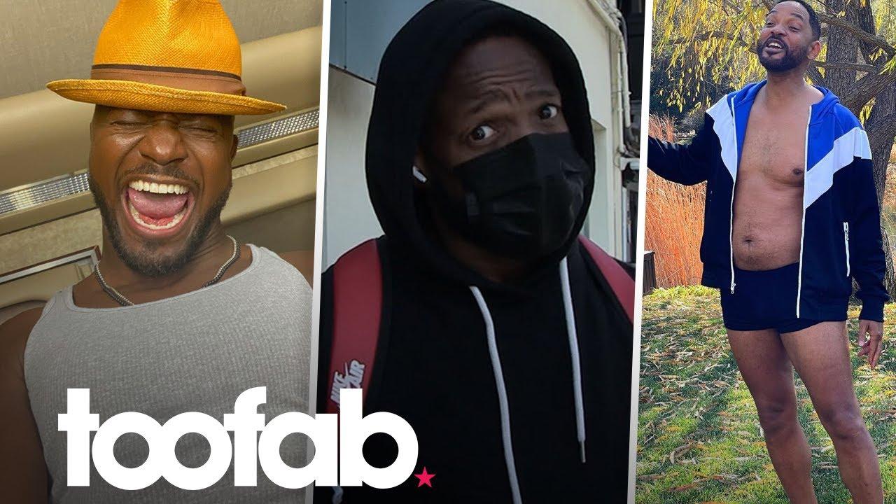 Marlon Wayans Challenges Taye Diggs to Will Smith #DadBodChallenge   toofab