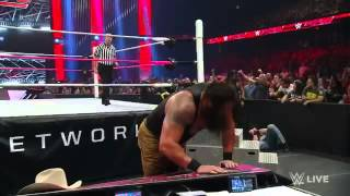 WAPWON COM Roman Reigns vs  Braun Strowman Raw  October 12  2015