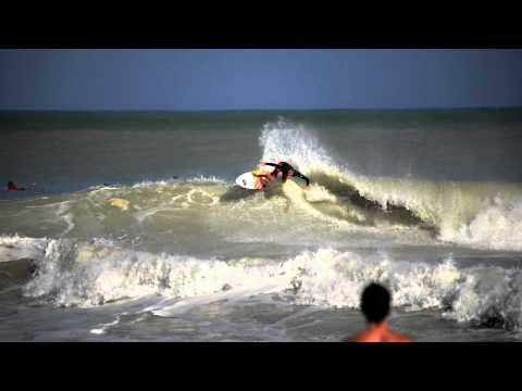 Surfing South Pointe Miami Beach
