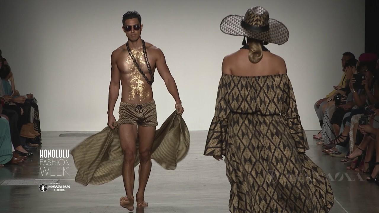d08fed374c5 Manaola Hawai i Runway Show at 2016 HONOLULU Fashion Week presented by  Hawaiian Airlines