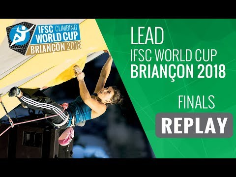 IFSC Climbing World Cup Briançon 2018