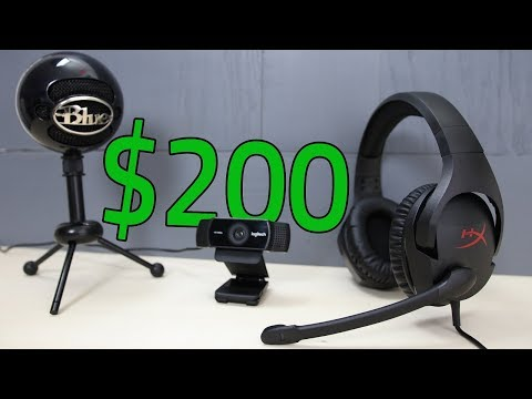 BEST Way to Start Streaming On Twitch With $200!