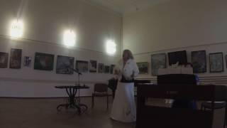 Выступление певицы Ларисы Соковец в Центр.Публич.Библиотеке им.А.П.Чехова в городе Таганроге.