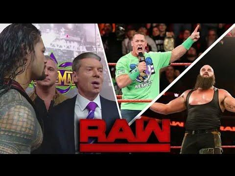 WWE Monday NIght RAW 12/3/2018 Highlights HD - WWE RAW 12 March 2018 Highlights HD thumbnail