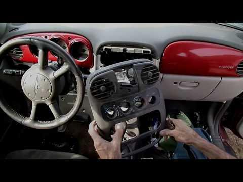 PT Cruiser Radio Removal