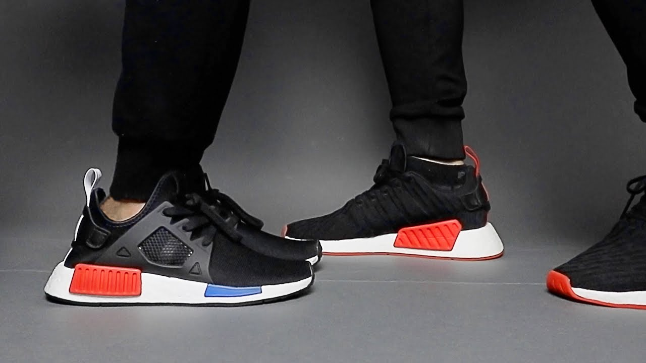 b060a6d8cabec3 Adidas OG NMD XR1 + R2  Best NMD Combo for Oufit Matching Couples ...