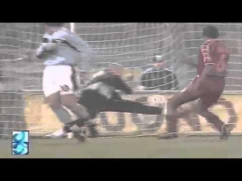 Serie A 1998-1999, day 11 Lazio - Roma 3-3 (2 R.Mancini, Delvecchio, Salas, Di Francesco, Totti)