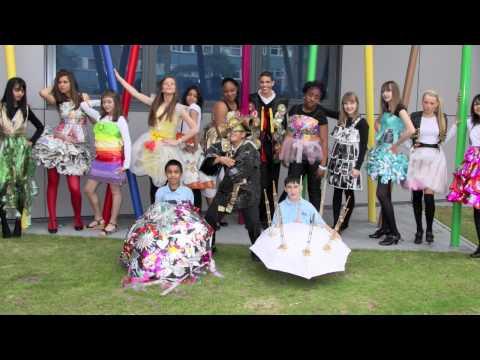 morpeth-school-recycle-fashion-show