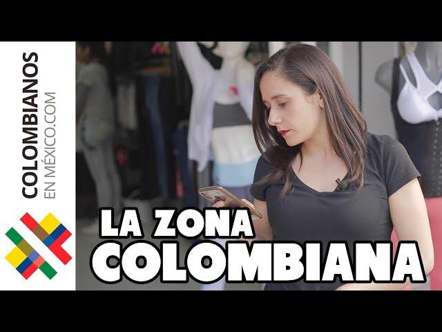 El Área Más Colombiana de México