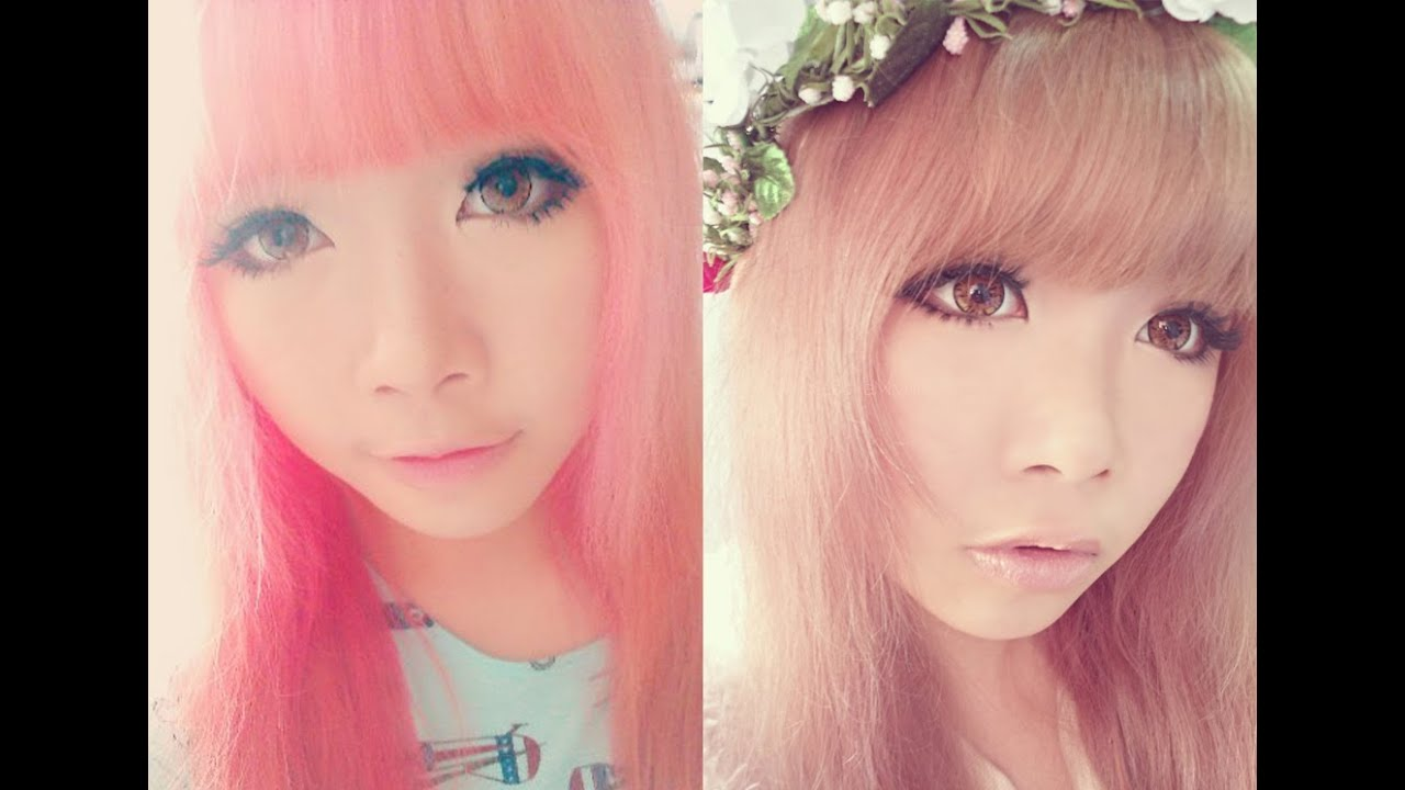 From Pink To Ash Brown Hair Liese Bubble Hair Color