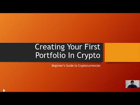 Creating Your First Portfolio in Crypto