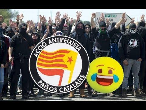 Impactantes imágenes de la revuelta de los Nacional Socialistas Catalanes del 21D