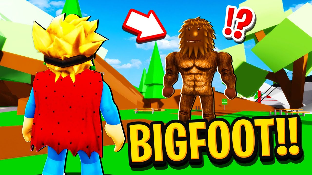 We Found BIGFOOT in Roblox BROOKHAVEN RP!!
