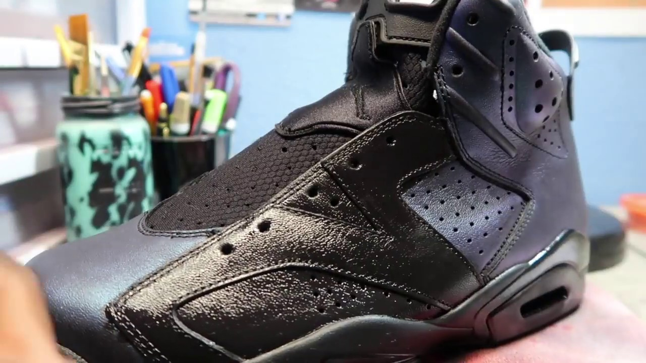 CUSTOM GUCCI AIR JORDAN 6 TUTORIAL