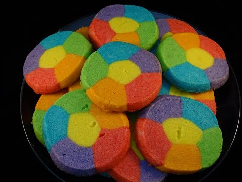 Rainbow Jell-O Sugar Cookies- with yoyomax12 from YouTube · Duration:  4 minutes 36 seconds