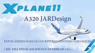 X_PLANE 11 A320 JARDesign vol complet NICE ( LFMN ) FARO ( LPFR )