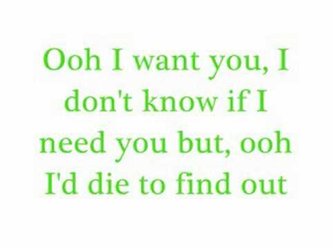 I Want YouSavage Garden with lyrics