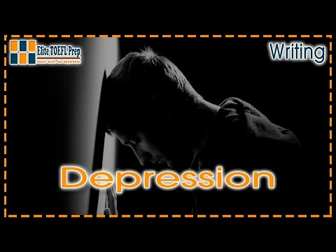 TOEFL | Integrated Writing Task | Depression