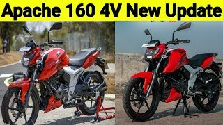 Apache 160 4V New Update | Tamil Automobile Update | Apache